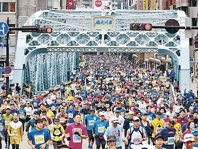 最多1万4256人が快走 第5回金沢マラソン