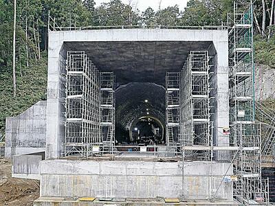 加賀トンネル貫通 北陸新幹線 石川・福井県境