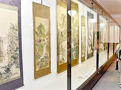敦賀出身の南画家・内海吉堂とは 敦賀市立博物館で企画展
