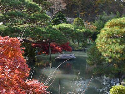 長野の長峯氏庭園、名勝地に 水路残る景観、武家庭園の趣