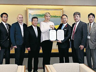 五輪飛び込み ロシアが金沢で合宿の協定