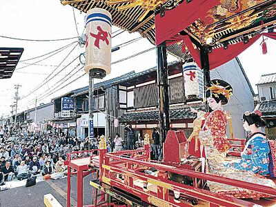 お旅まつり 来年は7町合同で子供歌舞伎