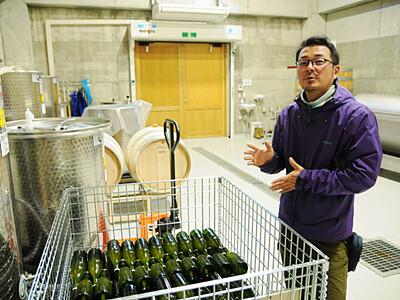 東御に自然派ワイナリー 化学肥料不使用・天然酵母で醸造目指す