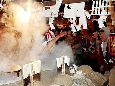 遠山郷の霜月祭り 1週間遅れで開始 飯田