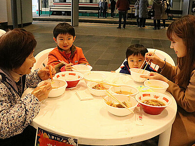 鍋料理でぽかぽか 富山駅おもてなしDAY