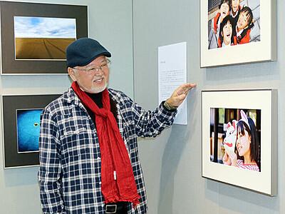 撮ること 生きがい アマ写真家の山田さん(高岡) がん乗り越え初個展