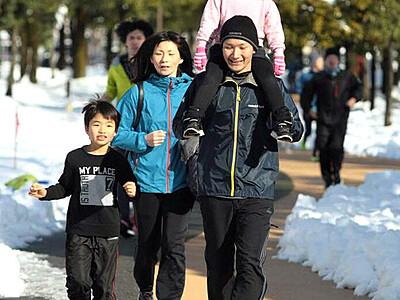 今年も走ろう「大晦日マラソン」 県総合運動公園