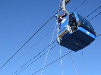 ゴンドラ事故の対応確認 妙高のスキー場で救助訓練