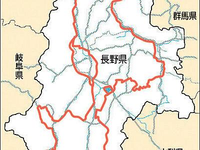 自転車観光、信州巡る820キロ ルート案と標識示す