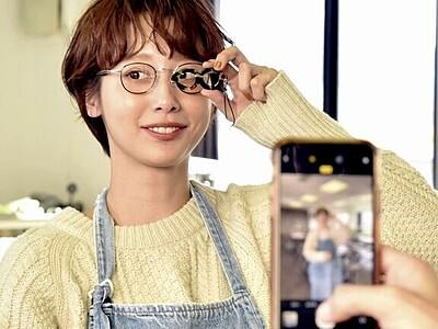 インスタグラマーの石田さん、眼鏡産地鯖江でもの作り体験