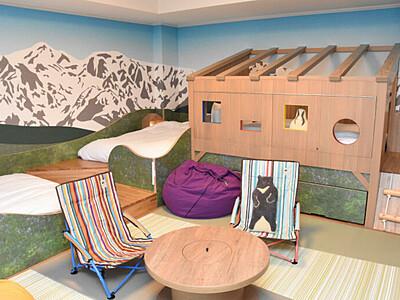 白馬東急ホテル、客室も山岳風に 壁紙や家具を刷新