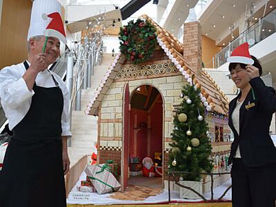Xマス、映えます!「サンタの家」 長野のホテル