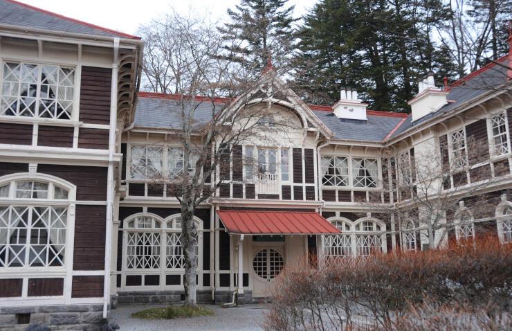 28日から長期休館する旧三笠ホテル