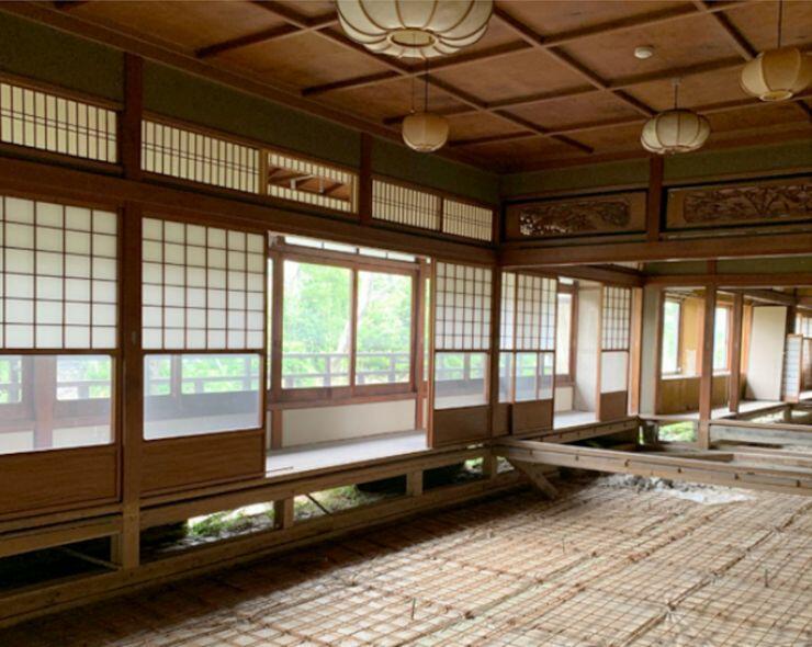 「スノーピーク京都嵐山(仮称)」の店舗となる予定の古民家=京都市