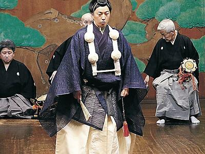 北陸で31年ぶりのワキ方能楽師誕生 金大大学院の渡貫さん 「加賀宝生の伝統つなぐ」