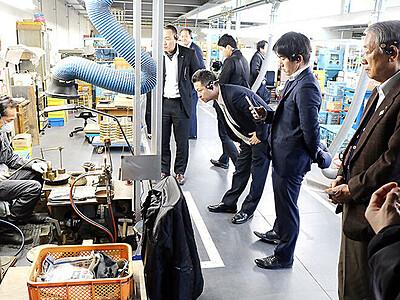 産業観光の魅力発信 高岡商議所が旅行会社招きツアー