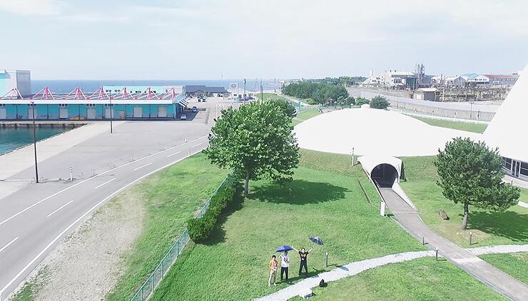 ドローンによる空撮のイメージ写真