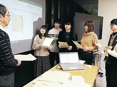 野々市ヤーコン、認知度は7割 金沢工大プロジェクト、初の市民アンケート