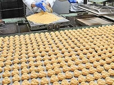 豆らくがん、福注入 敦賀の伝統菓子製造ピーク