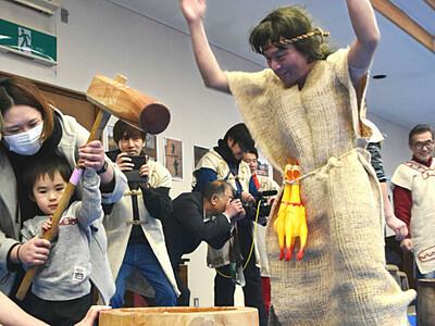 「ムサイさん」縄文時代の富士見から? イベントにたびたび登場