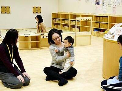 子ども施設「てんぐちゃん広場」ずっと人気 福井県越前市
