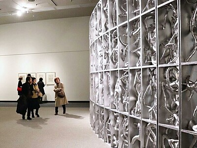 草間彌生ワールド展開 2月8日から新潟市美術館
