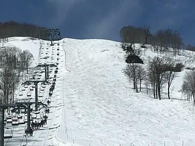 奥只見丸山スキー場 春季開業3月7日