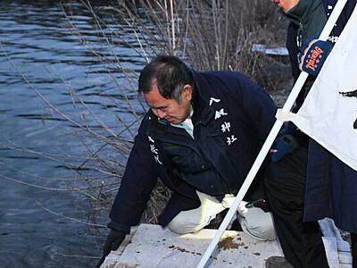 御神渡り「来季こそ」 諏訪湖、結氷しないまま観察終了