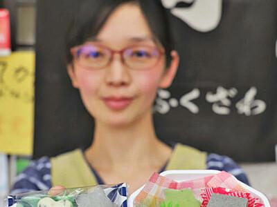 黒ゴマ・桑の葉のチョコ 駒ケ根の菓子店販売