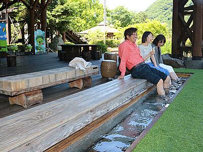 豊富なミネラルで健康に 庄川温泉の泉質、研究チーム調査