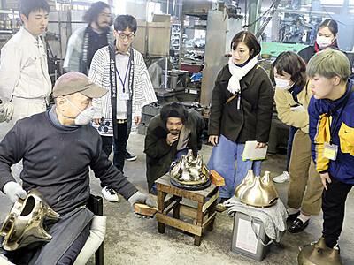 高岡で「伝産の学校」始まる 技術・魅力を若者に継承