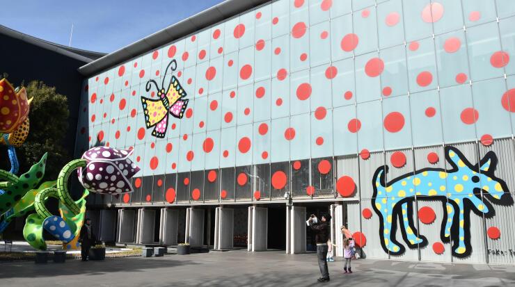 外国人来場者数が過去最多となった松本市美術館