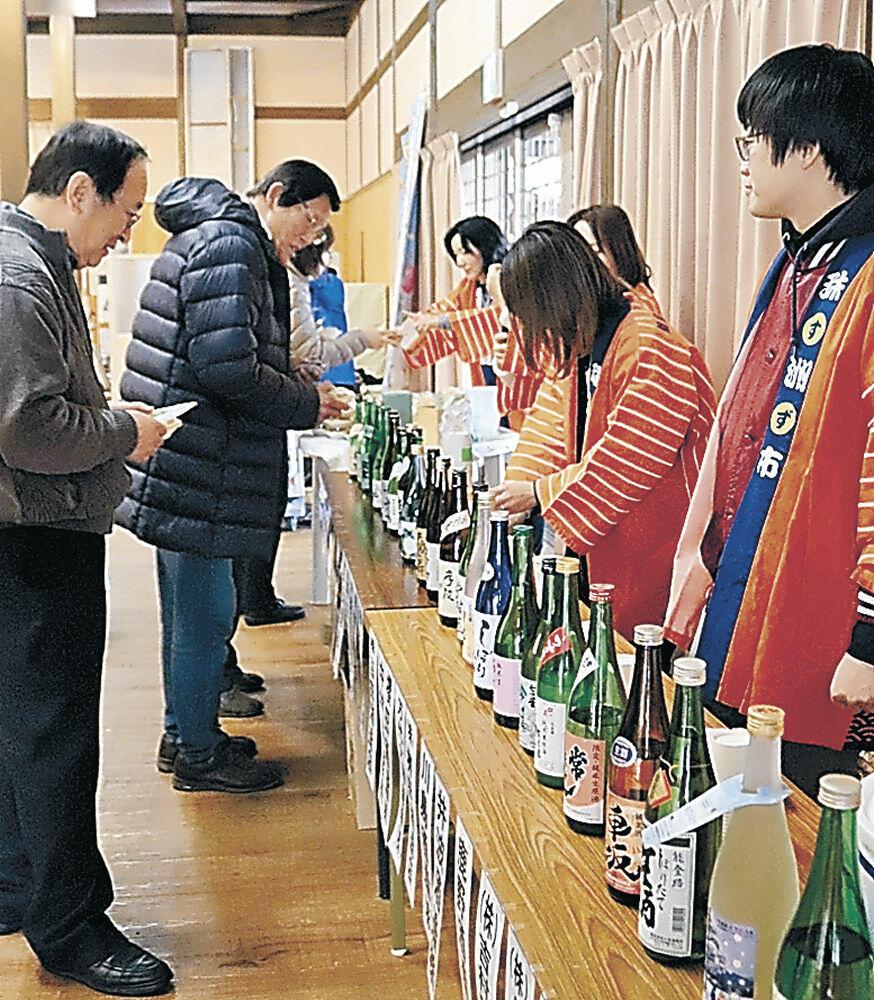 飯田わくわく広場振興会の「日本酒まつり」
