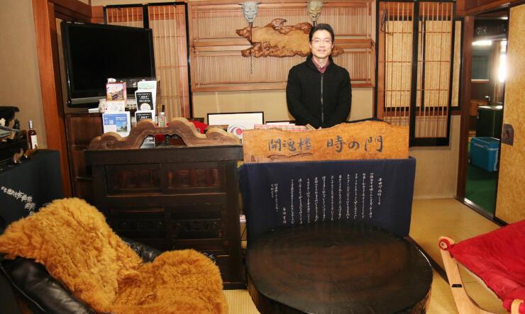 大正時代建築の旧商店で宿泊業を始める石川さん