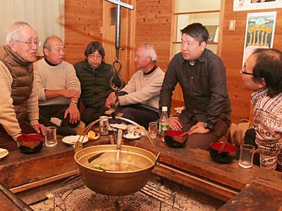 飯田の天文施設、継承へ光 若手と酒宴、活用法語り合う