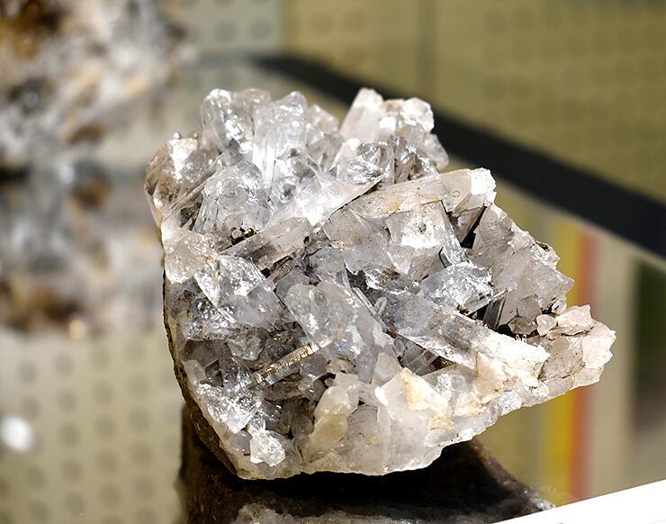 北アルプス・水晶岳で採取された水晶