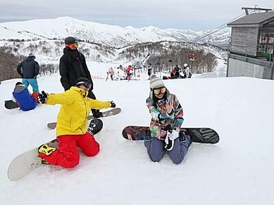 一足早い春スキー 魚沼・奥只見丸山