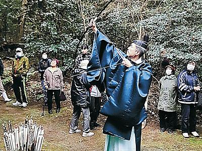 幸福願い的打神事 珠洲・須須神社金分宮