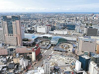 石川の公示地価 上昇率18年ぶり全国平均超