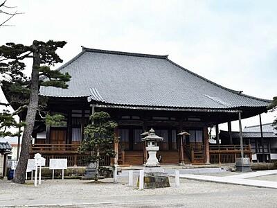 国登録文化財に福井の13棟 越前市の陽願寺、信洋舎製紙所