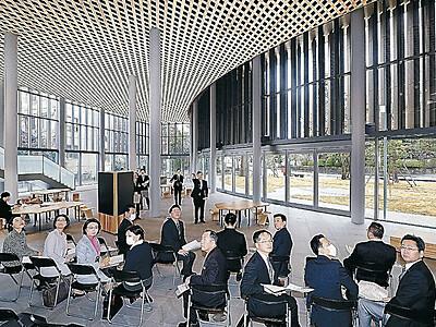 金沢市役所 柿木畠に第2本庁舎完成