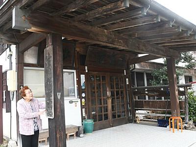 佐久の「清集館」悔い残さず幕 明治時代創業の老舗旅館