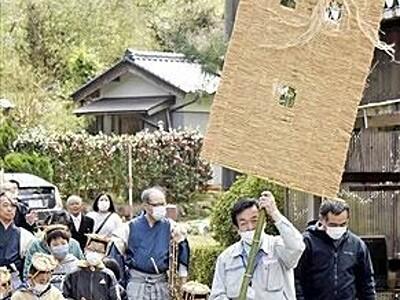 気比神社春祭り、天皇行幸を模し無病願う 福井県敦賀市