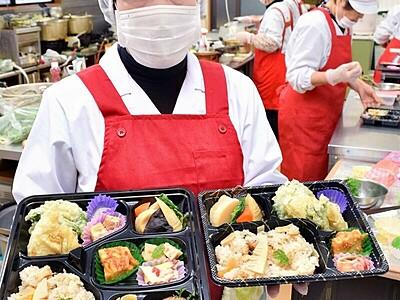 タケノコ御前、今年は弁当で 越前町の特産