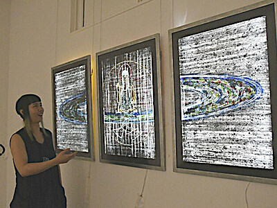 展示作品をHPで公開 佐久地方の美術館など