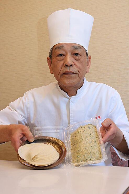 「中国菜館 梨花」が販売を始めた手作りギョーザセット