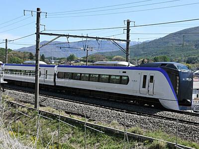 北陸新幹線・あずさ、減便へ 28日から2~5割