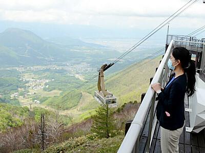 標高1770メートル、癒やしの眺望 山ノ内・竜王マウンテンパーク
