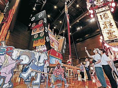 和倉温泉お祭り会館オープン 観光復活の呼び水に