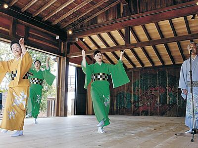 小松入城380周年、利常しのぶ 「小松おどり」初披露